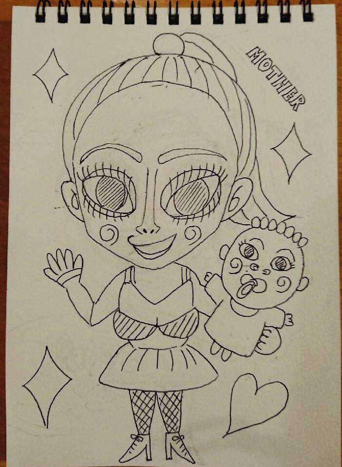 浜崎あゆみさんのイラスト