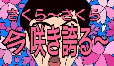 桜開花★さくらプチ雑学★独唱