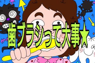 8月24日歯ブラシの日★正しい歯ブラシとタイミング