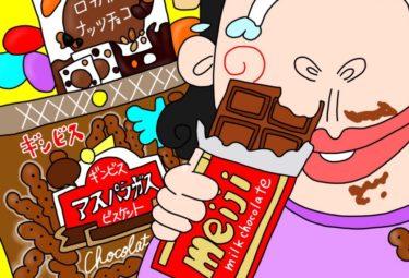 ちょっとマニアックなチョコレート勝手にランキング★【チョコがしみこんだミニアスパラガス・ロカボナッツチョコ・さくさくぱんだレビュー】