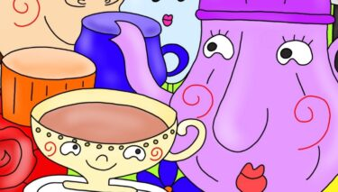 洋食器と和食器の違い★ティーカップとコーヒーカップの違い★1日1つ賢くなるプチ雑学